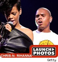 Chris Brown / Rihanna Launch Photos