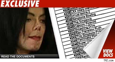 Michael Jackson -- launch docs