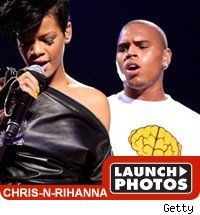 Chris Brown & Rihanna: Launch Photos