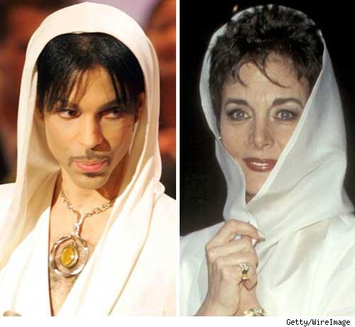 Prince and Linda Dano