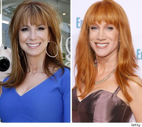 Jill Zarin and Kathy Griffin