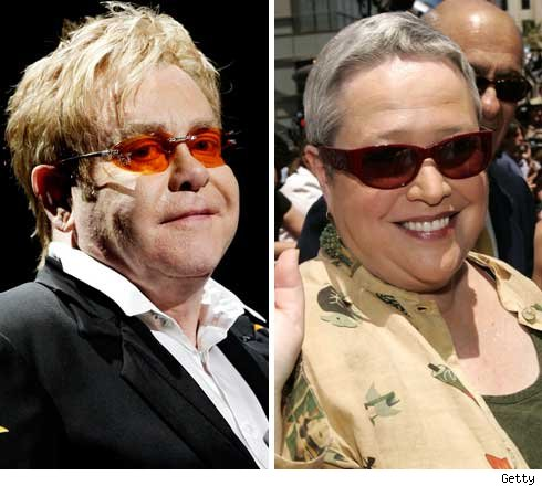Elton and Kathy