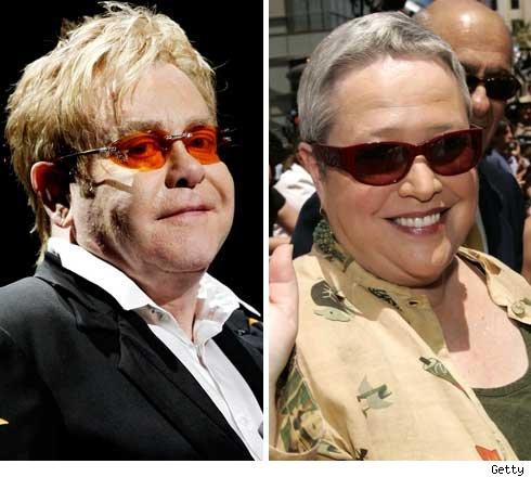Elton and Kathy