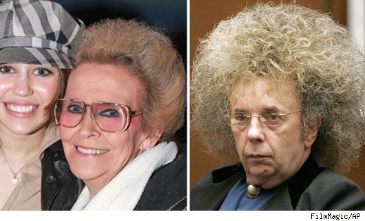 Miley's Grandmother and Phil Spector