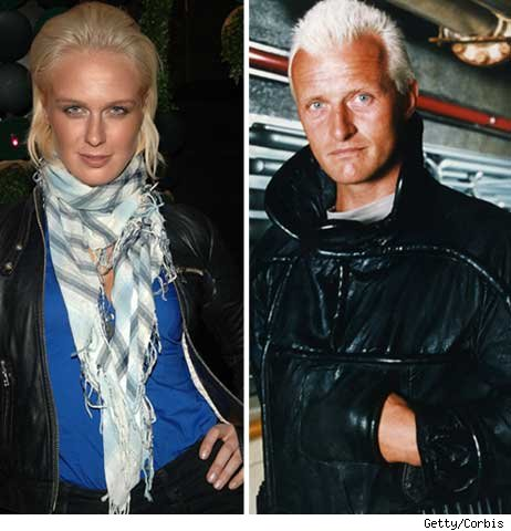 Caridee and Rutger Hauer