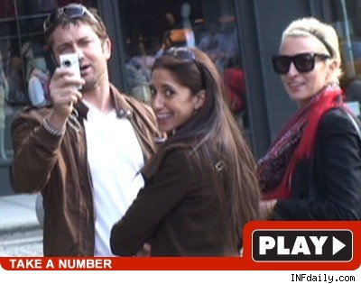 Gerard Butler: Click to watch video