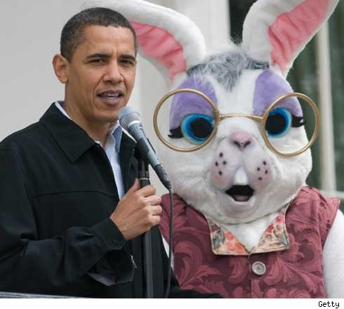 Obama and Bunny