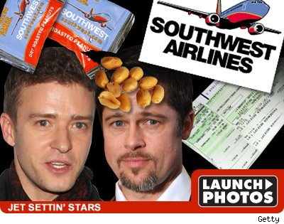 Justint TImberlake - Brad Pitt - launch photos