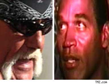 Hulk Hogan & O.j.Simpson