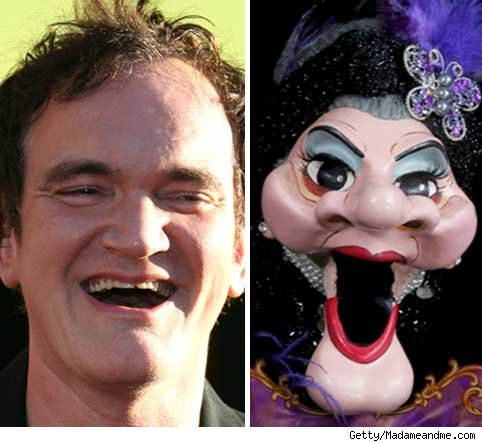 Quentin Tarantino and Madame