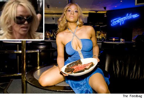 Pamela Anderson is turning a blind eye to her hardcore vegetarian, ...