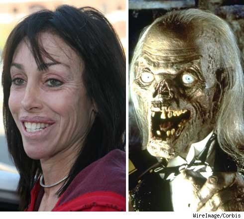 Heidi and Crypt Keeper