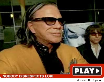 Mickey Rourke -- play video