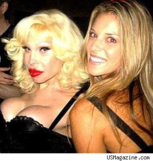 Carrie Prejean and Amanda Lepore