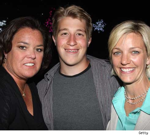 Rosie, Parker and Kelli O'Donnell