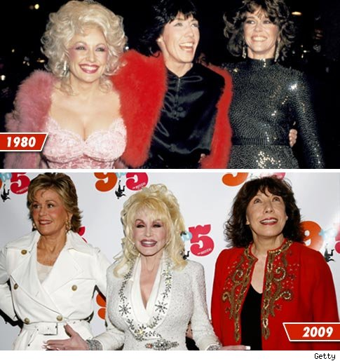 Jane Fonda, 71, Dolly Parton, 63, and Lily Tomlin, 69, reunited in NYC last ...