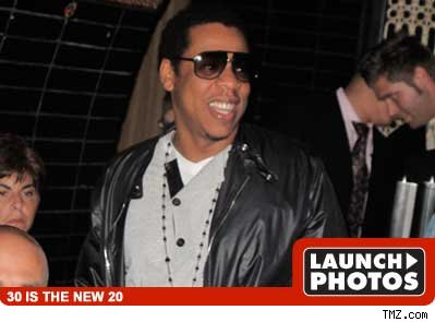 Jay-Z -- launch photos