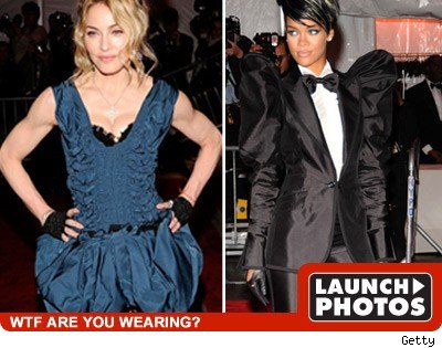 Madonna and Rihanna