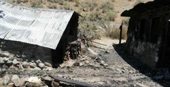 Manson Gang Hideout -- The Smoldering Remains