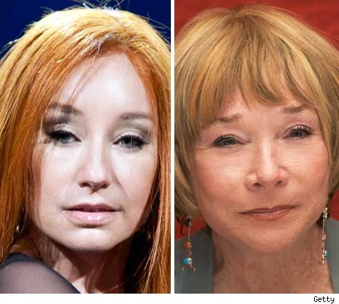 Tori Amos and Shirley MacLaine