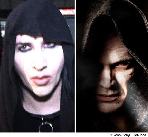 marilyn manson contacts