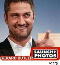 Gerard Butler - Launch Photos