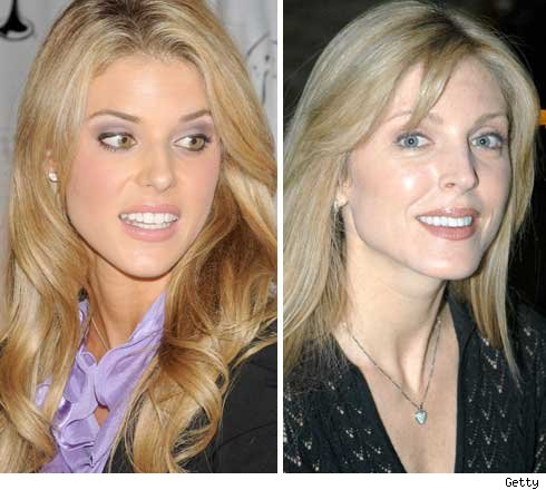 Carrie Prejean and Marla MAples