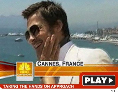 Ann Curry & Brad Pitt: Click to watch