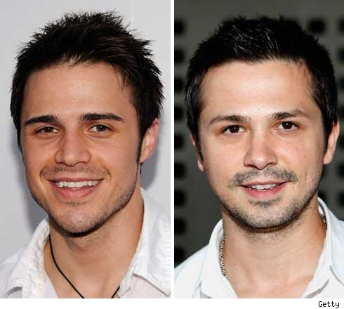 Kris Allen and Freddy Rodriguez