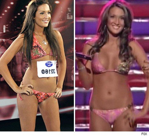 American Idol Bikini Girl