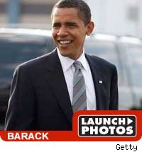 Barack Obama -- launch photos
