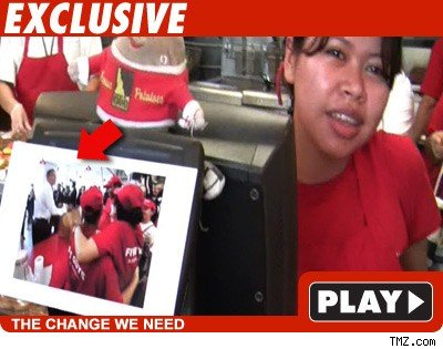 Five Guys worker: Click to watch