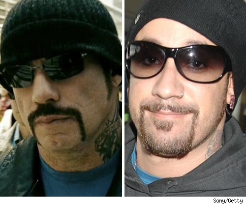 A.J. McLean and John Travolta
