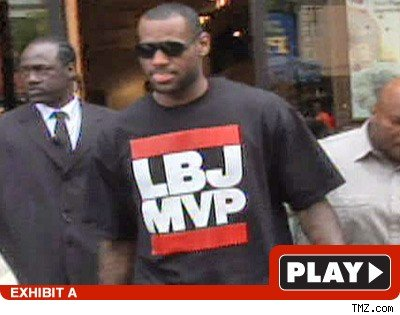 LeBron James: Click to watch