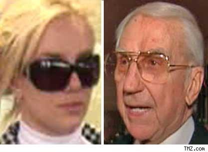 Britney Spears Ed McMahon