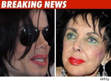 Liz Taylor Michael Jackson