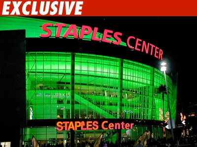 michael jackson staples center