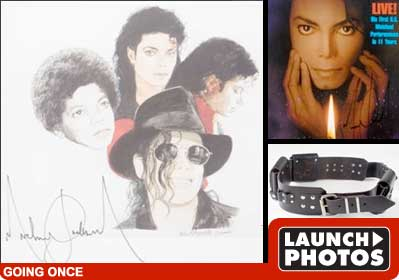 Michael jackson Check out the items that sold