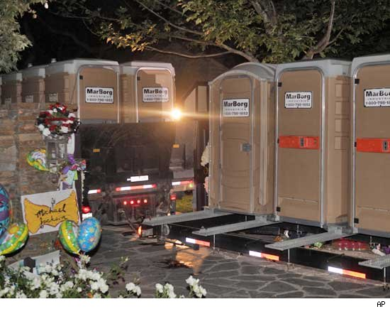 Neverland  Ranch Porta Potties