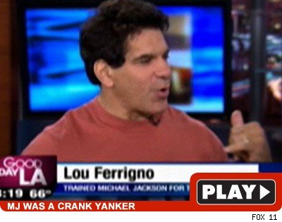 Lou Ferrigno: Click to watch