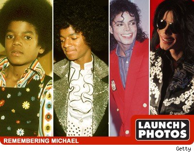 faces of Michael JAckson