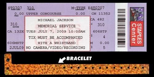 Michael Jackson Farewell: The Golden Ticket