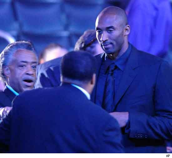 Rev. Al Sharpton and Kobe Bryant