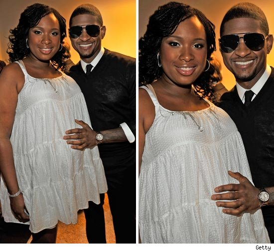 Jennifer Hudson and Usher