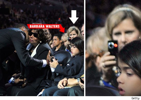 Barbara Walters' Spy Cam at Jackson Memorial
