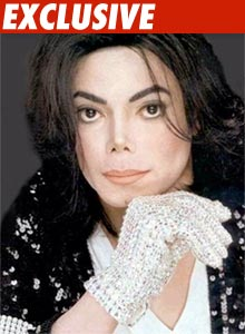 Michael Jackson with White Glove