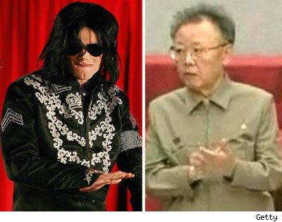 Michael Jackson & Kim Jong Il