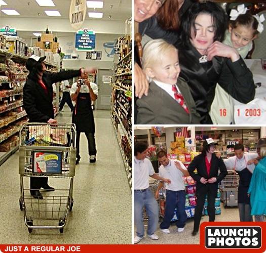 Michael Jackson -- Publix Figure