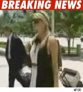 Paris Hilton in Miami -- Sue This!
