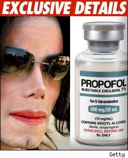 Michael Jackson Propofol